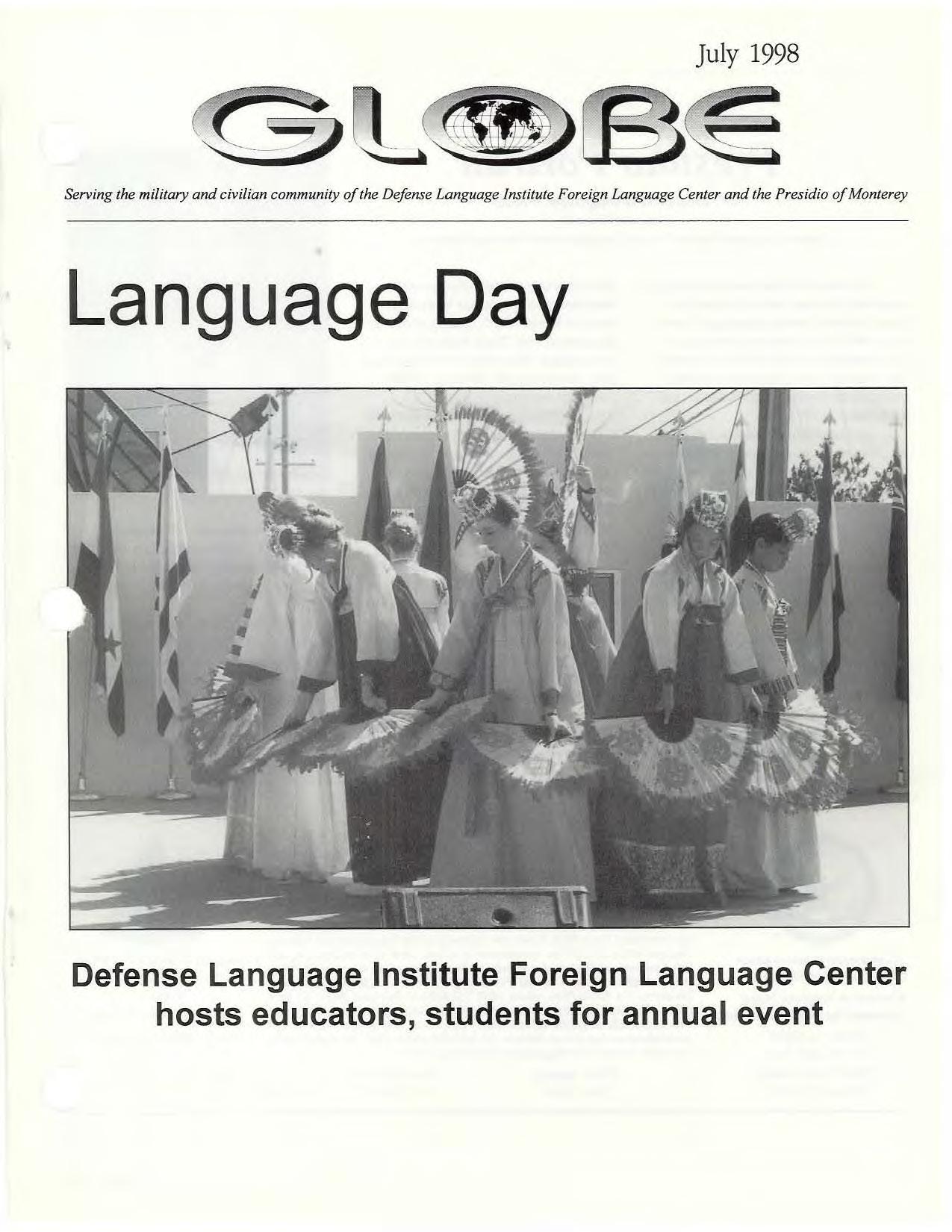 Language Day - July 1998