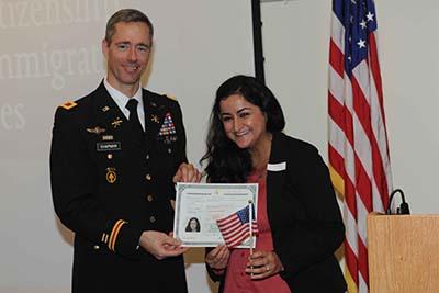 Ten become U.S. citizens at Presidio of Monterey