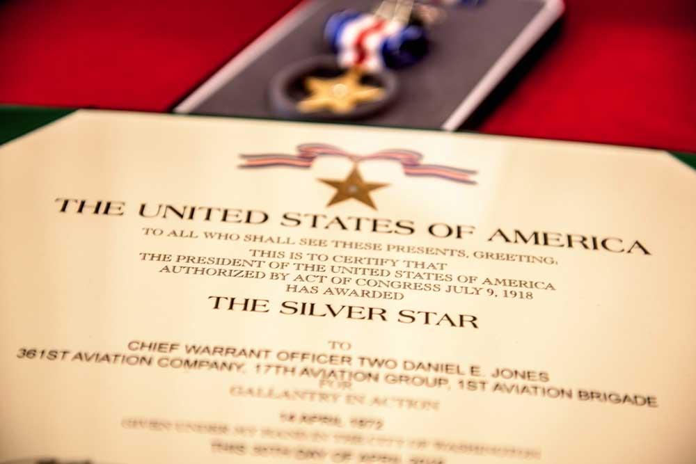 Silver Star Award Ceremony