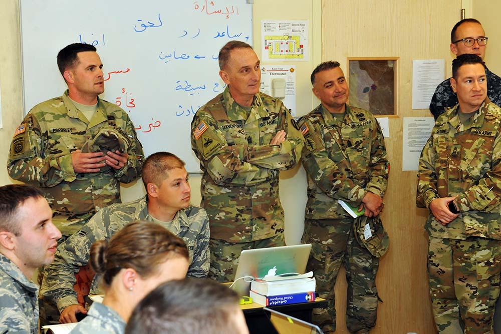 Thinking outside the box: TRADOC Command Sgt. Maj. amazed with DLIFLC
