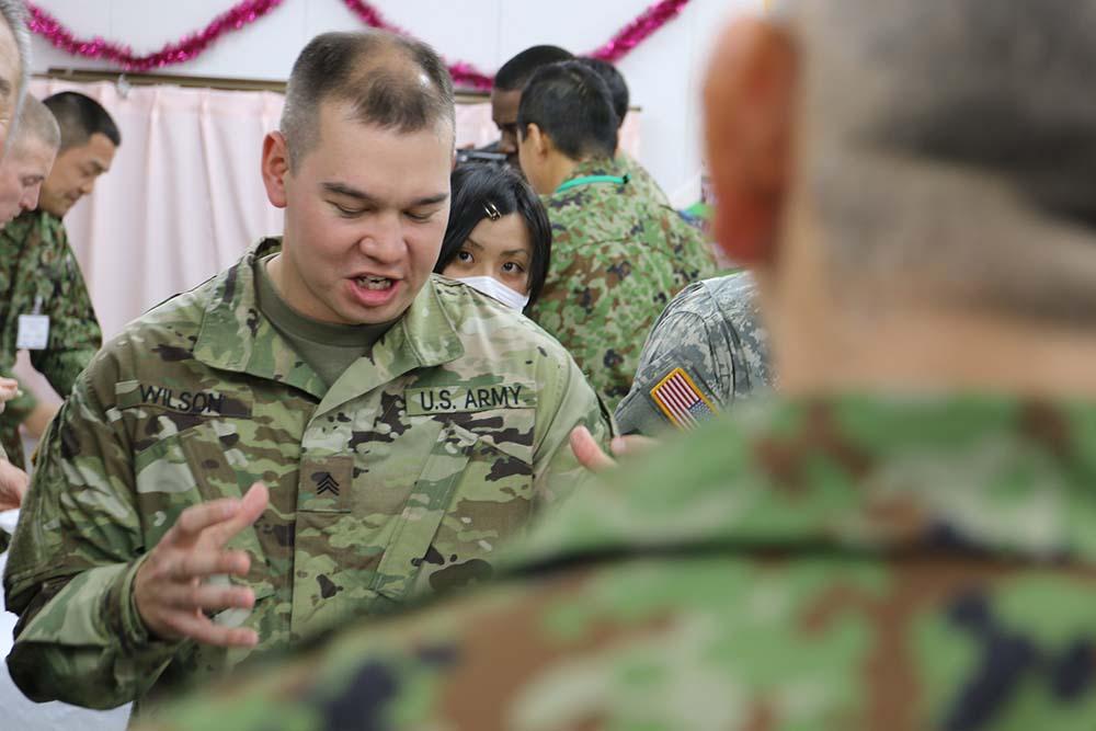 Yama Sakura: bilateral operation relies on bilingual service members