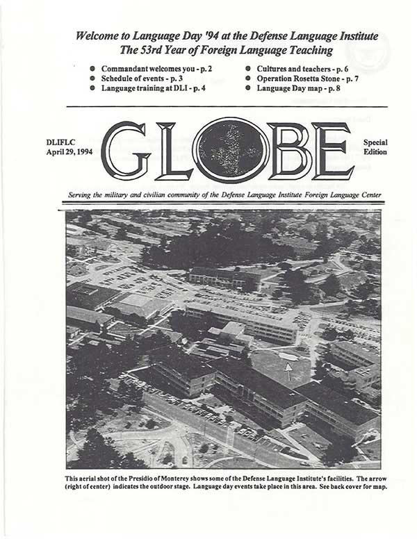 Language Day Program 1994