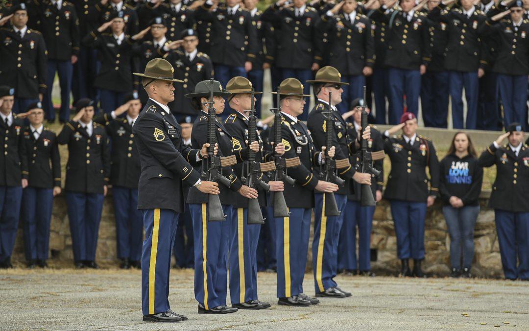 Presidio honors fallen comrades for Memorial Day