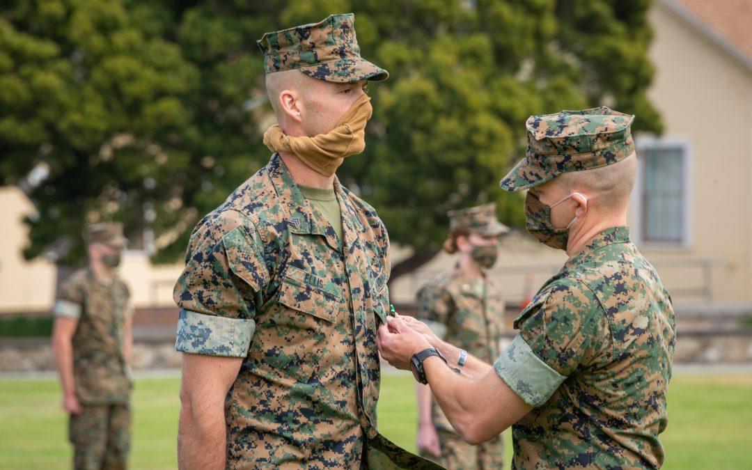 Marine receives award for saving driver's life