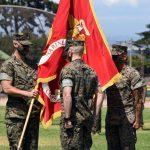 USMC at Presidio of Monterey changes command