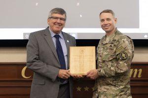 Language Training Detachment receives SOCOM award