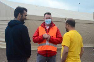Afghan interpreters speak their way through relationship building